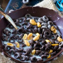 EDIBLE CHOCOLATE CEREAL BOWL -  DIY