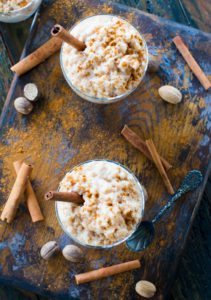 Instant Pot Rice Pudding is creamy and aromatic, flavored with cinnamon and nutmeg, ready in just 30 minutes, thanks to your Instant Pot.