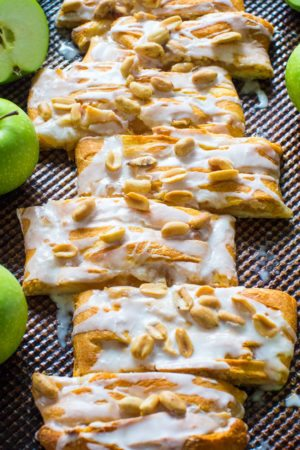 Easy Apple Pie Danish incorporates all the great fall flavors in an easy, flaky and sweet, seasonal danish, made with cheesecake and apple pie filling.
