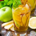Perfect Boozy Apple Iced Tea is bright and refreshing, this is the perfect fall cocktail.