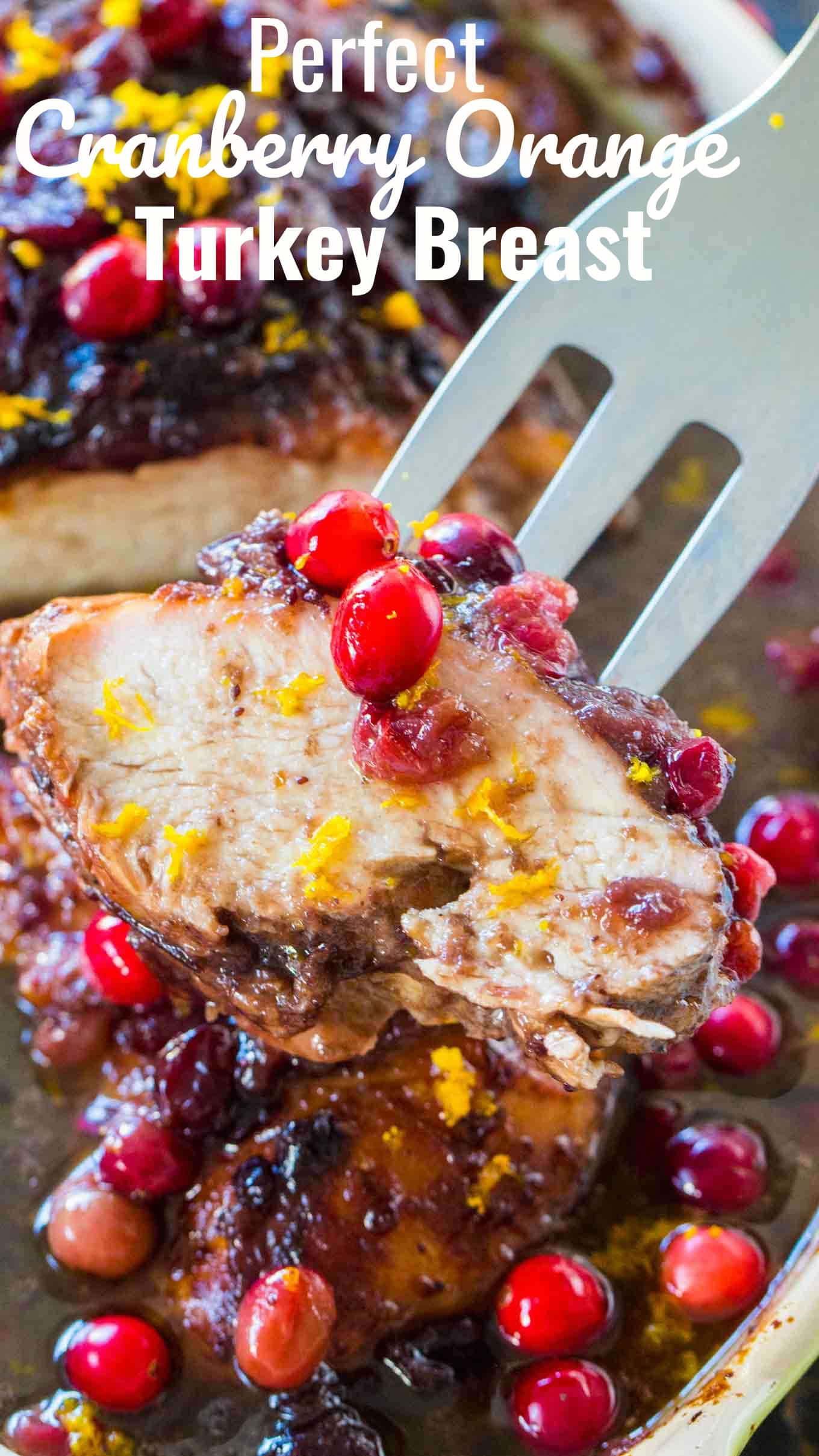 Cranberry Orange Turkey Breast Recipe