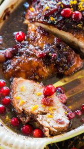 One Pan Cranberry Orange Turkey Breast is such a great, easy and delicious alternative to cooking a whole turkey.