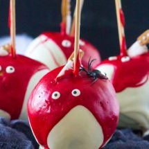 BLOODY HALLOWEEN DESSERTS 4 WAYS