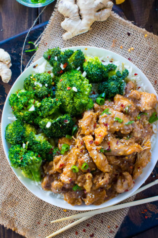 Instant Pot General Tso Chicken is a flavorful, restaurant quality meal made simple and easy in your pressure cooker in just 30 minutes!