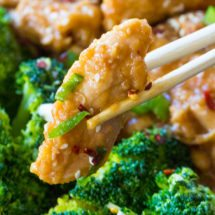 Must Try Instant Pot General Tso Chicken is a flavorful, restaurant quality meal made simple and easy in your pressure cooker in just 30 minutes!