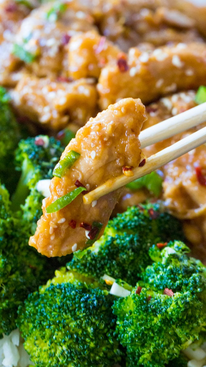 Instant Pot General Tso Chicken