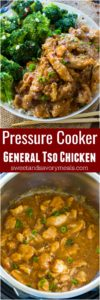 Best Instant Pot General Tso Chicken is a flavorful, restaurant quality meal made simple and easy in your pressure cooker in just 30 minutes!