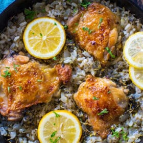 One Pan Italian Chicken and Rice