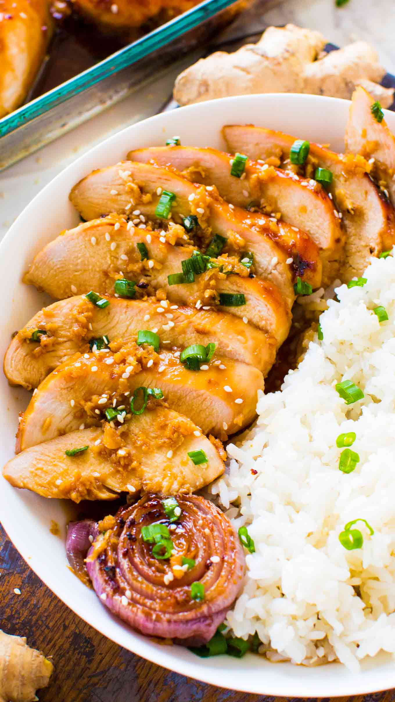 Baked Mongolian Chicken One Pan Sweet And Savory Meals
