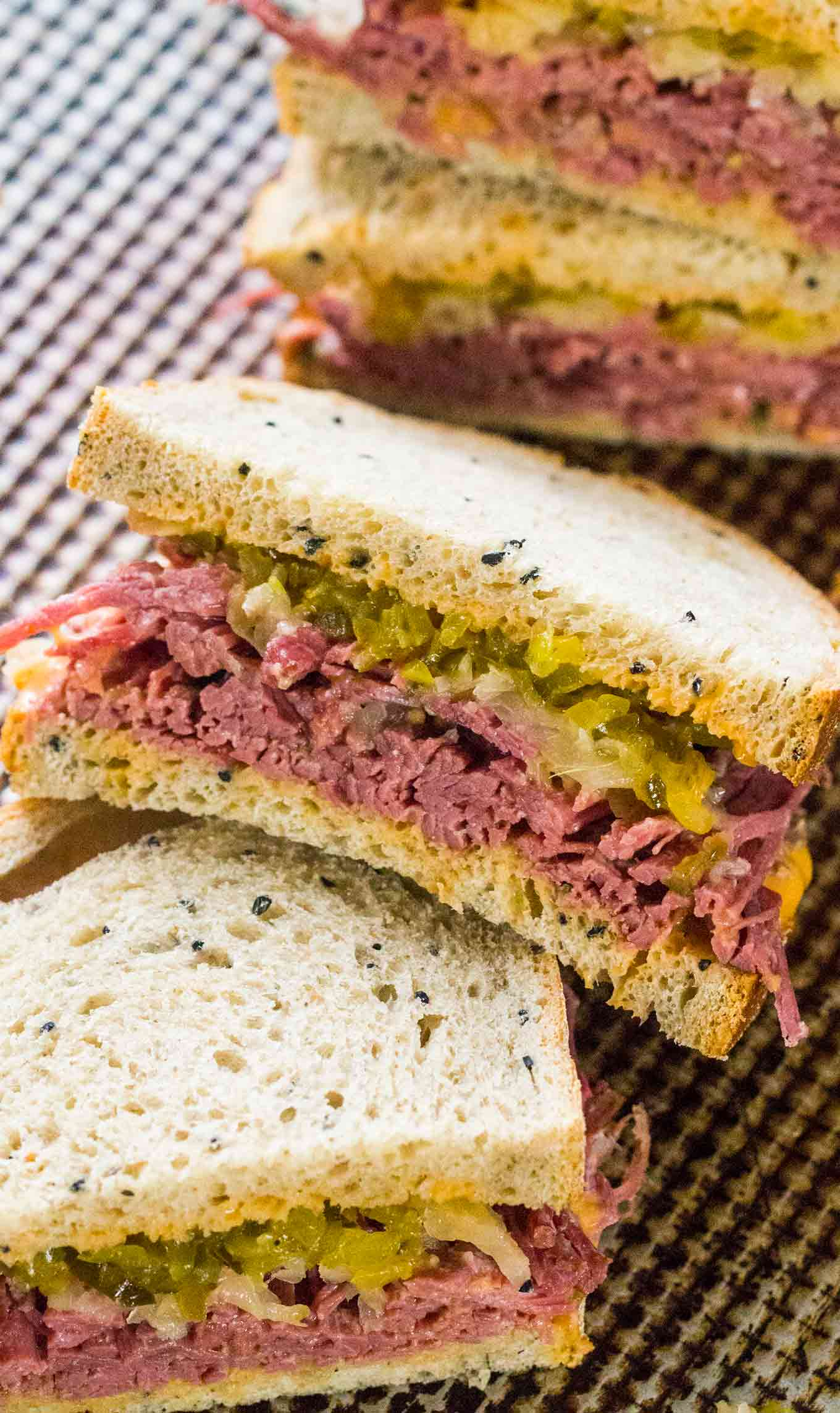 homemade corned beef sandwiches sweet and savory meals