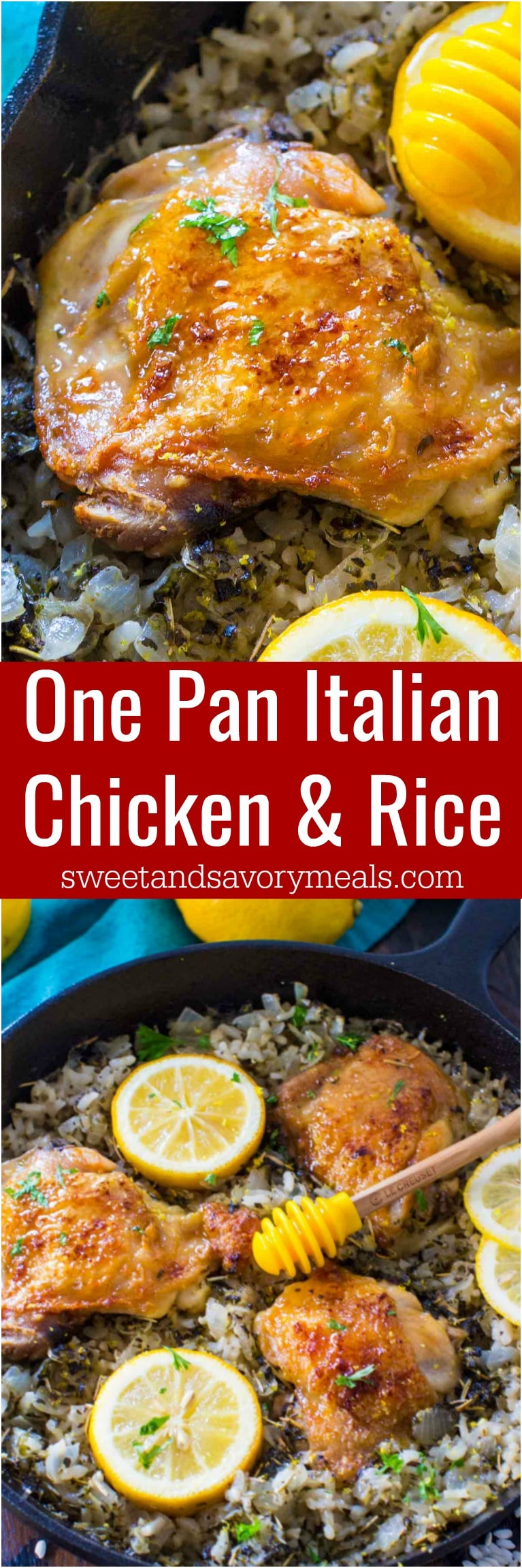 One Pan Italian Chicken and Rice is the perfect weeknight mealthat is packed with flavor, budget friendly and also very easy to make.