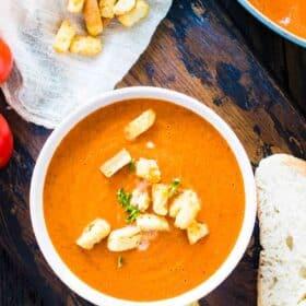 Panera Bread Creamy Tomato Soup