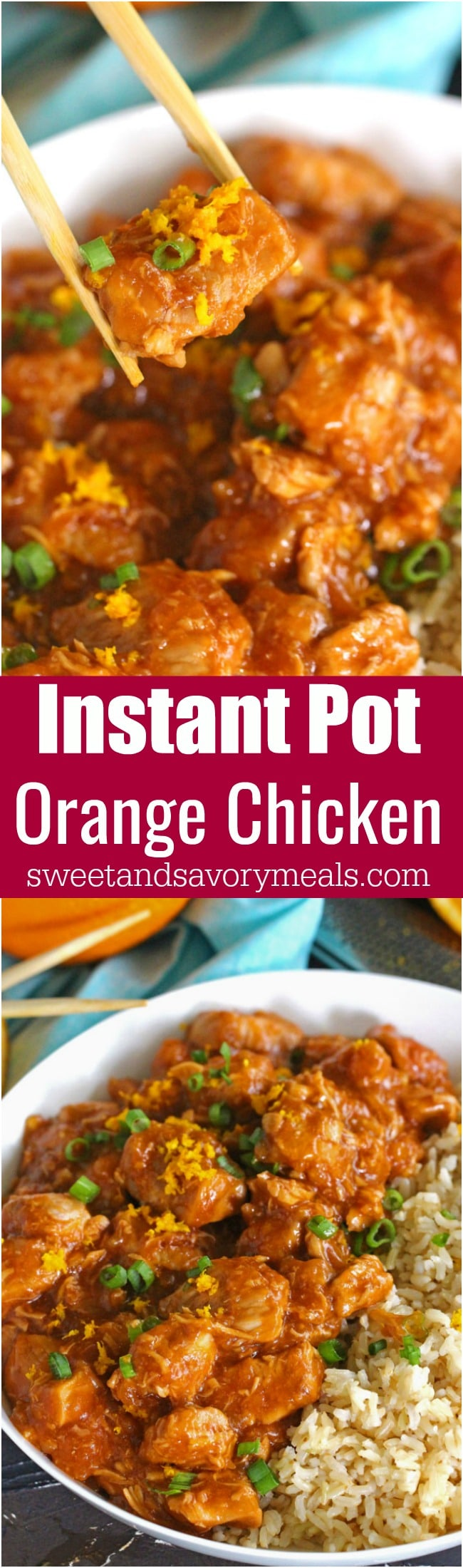 Instant pot orange chicken 30 minutes sweet and savory meals instant pot orange chicken is healthier than takeout and easy to make using your instant pot forumfinder