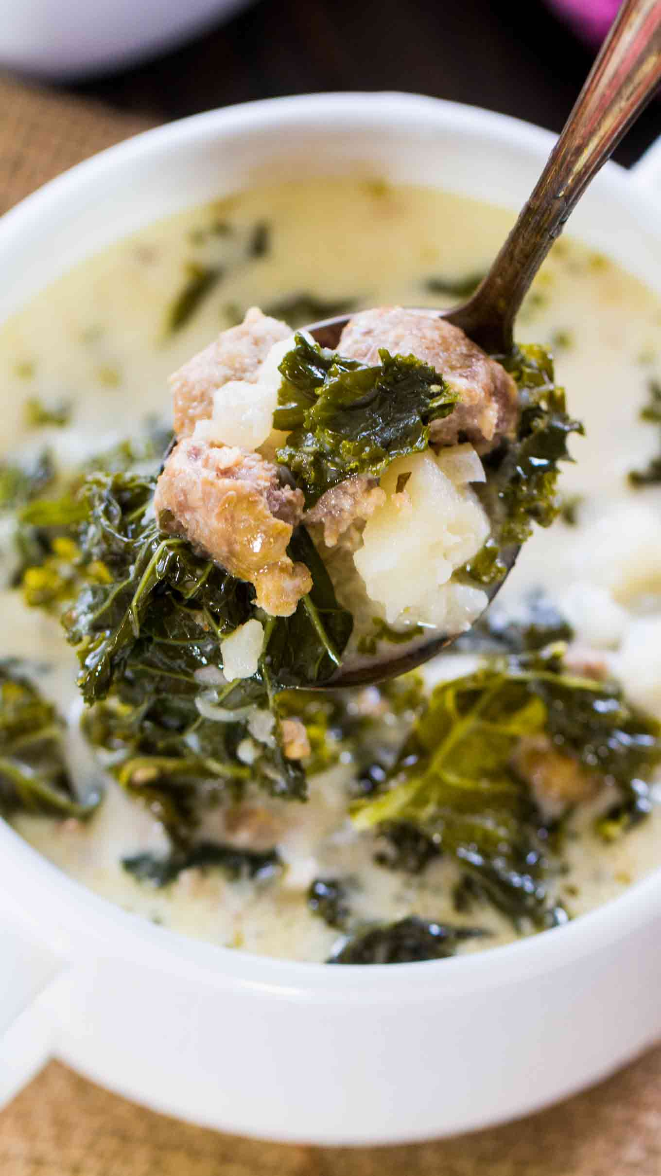 Instant Pot Zuppa Toscana - Sweet and Savory Meals