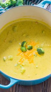 Best Panera Bread Broccoli Cheddar Soup Copycat is the perfect recipe of your favorite creamy and cheesy soup, that you can now easily make at home.