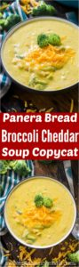 Creamy Panera Bread Broccoli Cheddar Soup Copycat is the perfect recipe of your favorite creamy and cheesy soup, that you can now easily make at home.