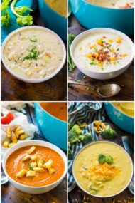 Panera Bread Soups Copycat recipes at your fingertips, easy and delicious so you can enjoy a soul warming meal anytime you want.