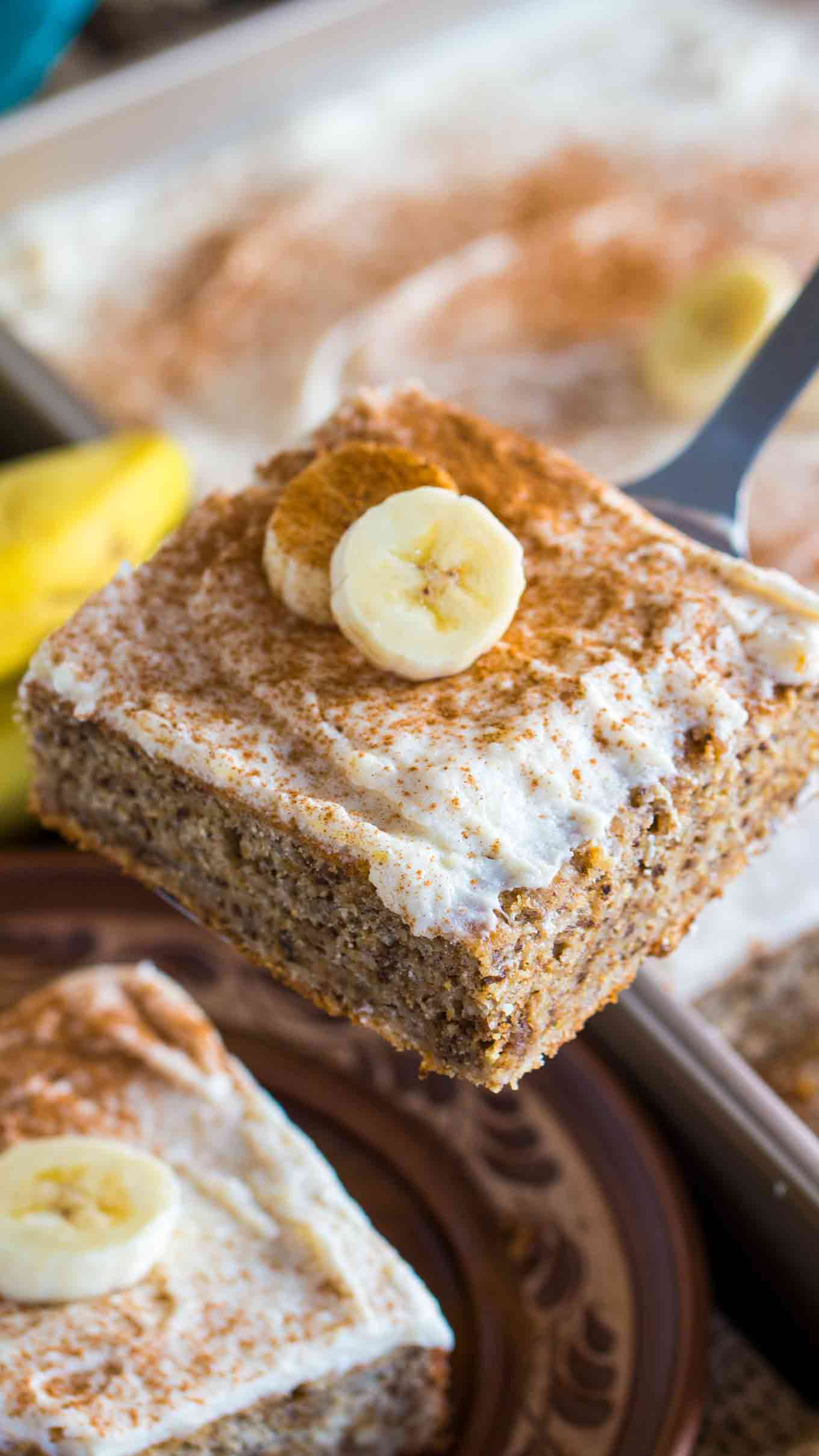 Best Ripe Banana Recipes Banana Nut Cake with Cream Cheese Frosting