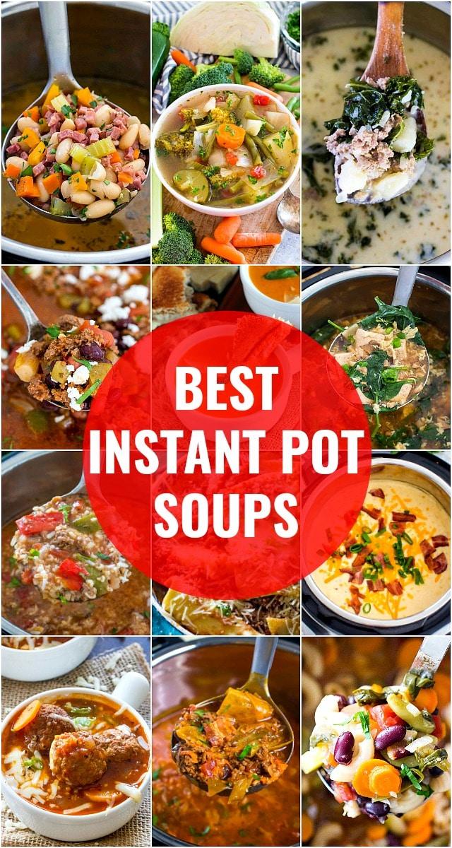 Instant Pot Soups Round Up