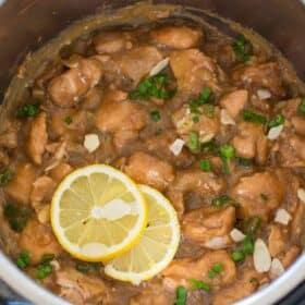 Instant Pot Honey Lemon Chicken
