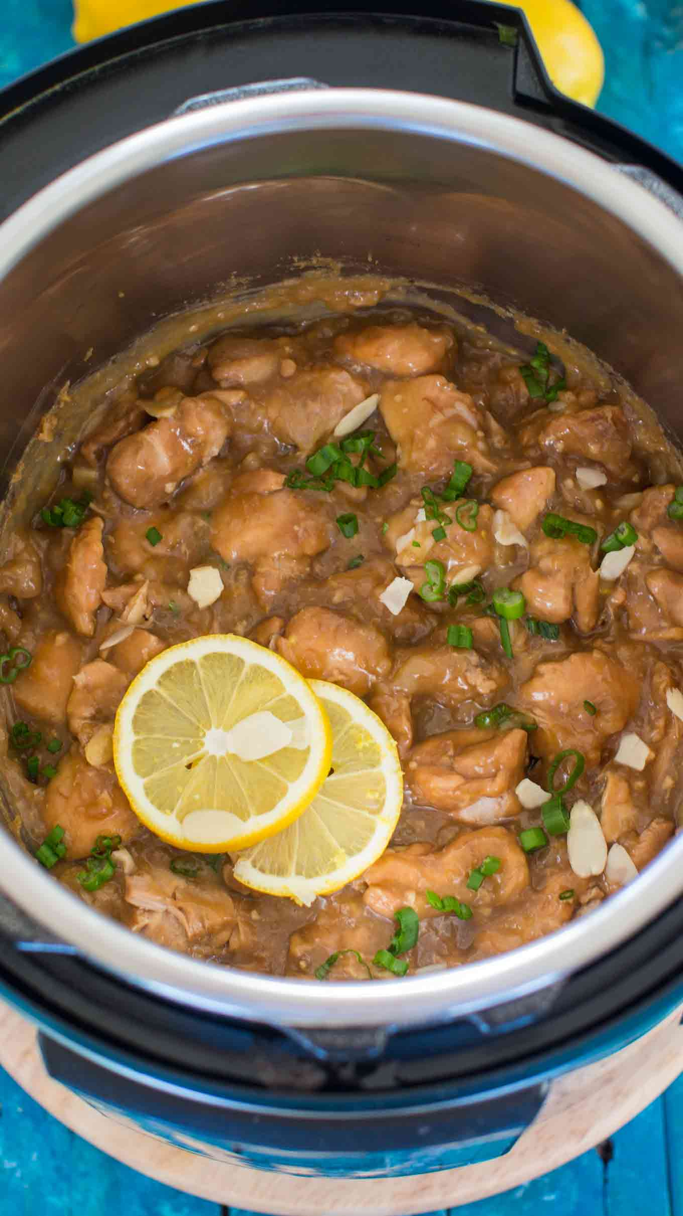 Easy Instant Pot Honey Lemon Chicken is a healthy and delicious meal, that is packed with amazing flavors and is ready in just 30 minutes.