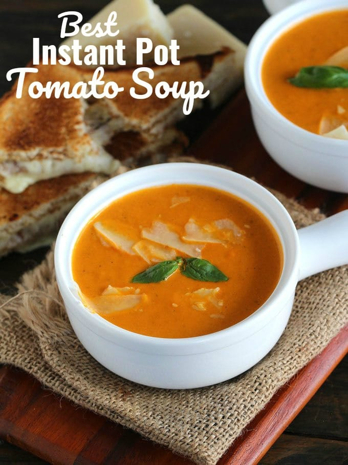 Best Instant Pot Tomato Soup