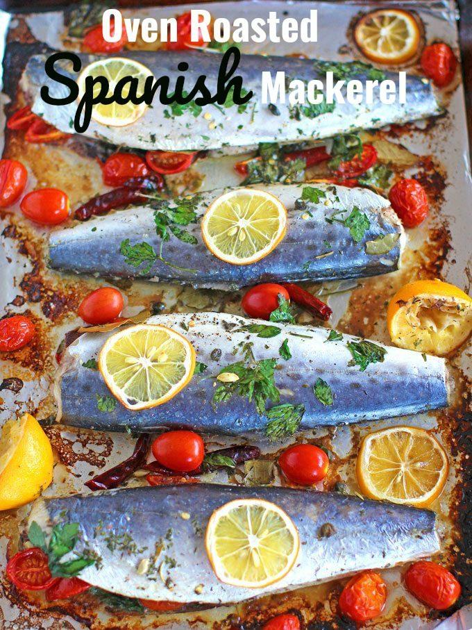 How to cook spanish mackerel steaks