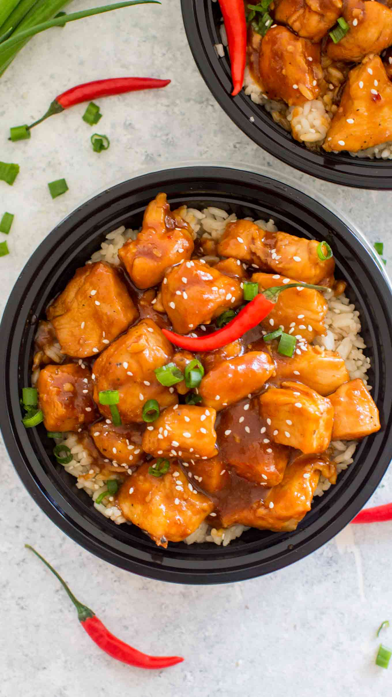 Spicy Bourbon Chicken Recipe