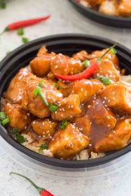 Spicy Bourbon Chicken