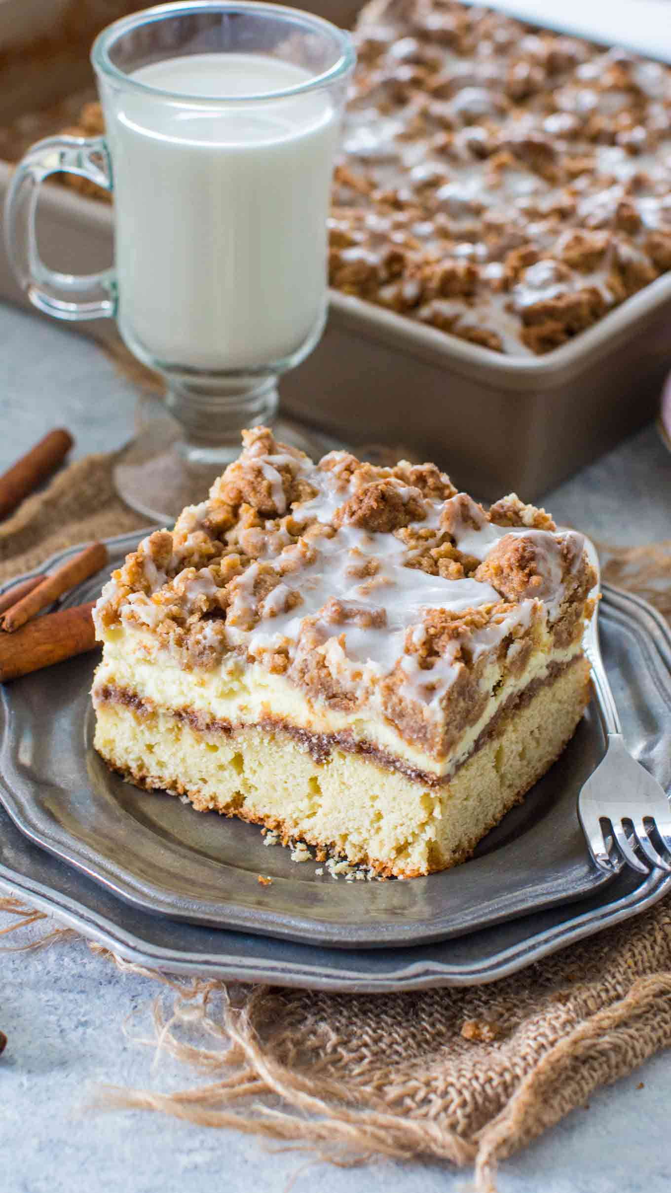 Coffee Cake Recipe with Cinnamon Filling
