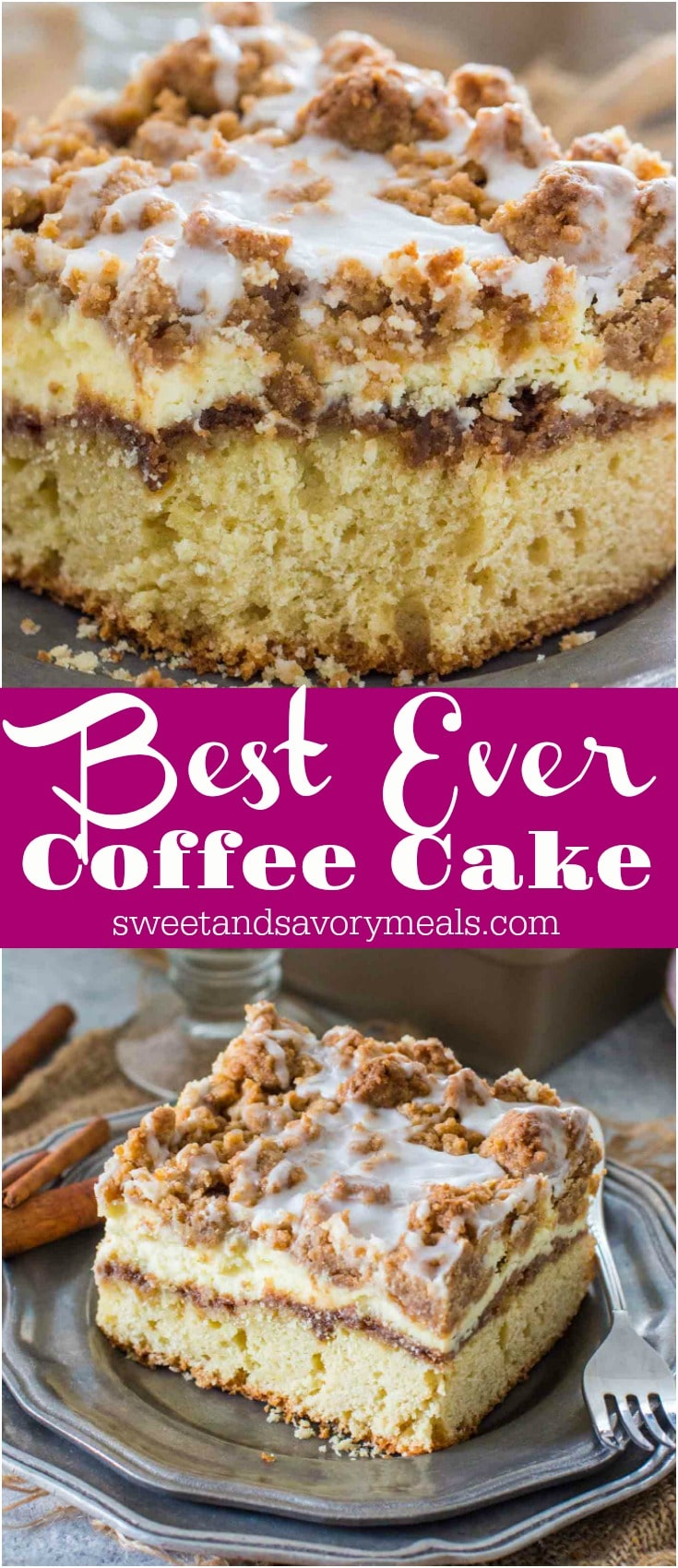 image of best ever coffee cake with cinnamon filling for pinterest