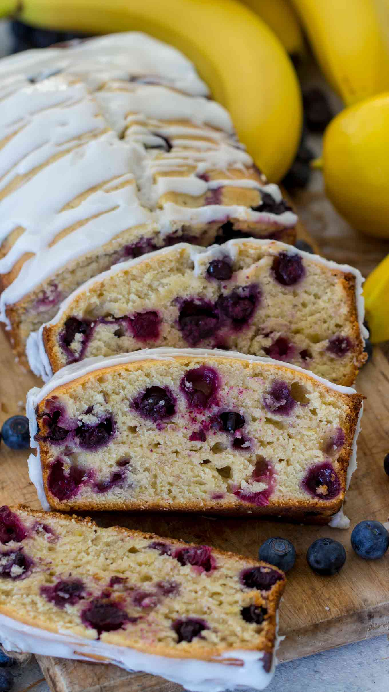 How to Make Blueberry Lemon Banana Bread