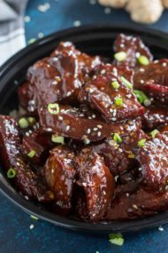 Sticky Honey Garlic Beef