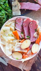 Instant Pot Corned Beef Cabbage and Potatoes