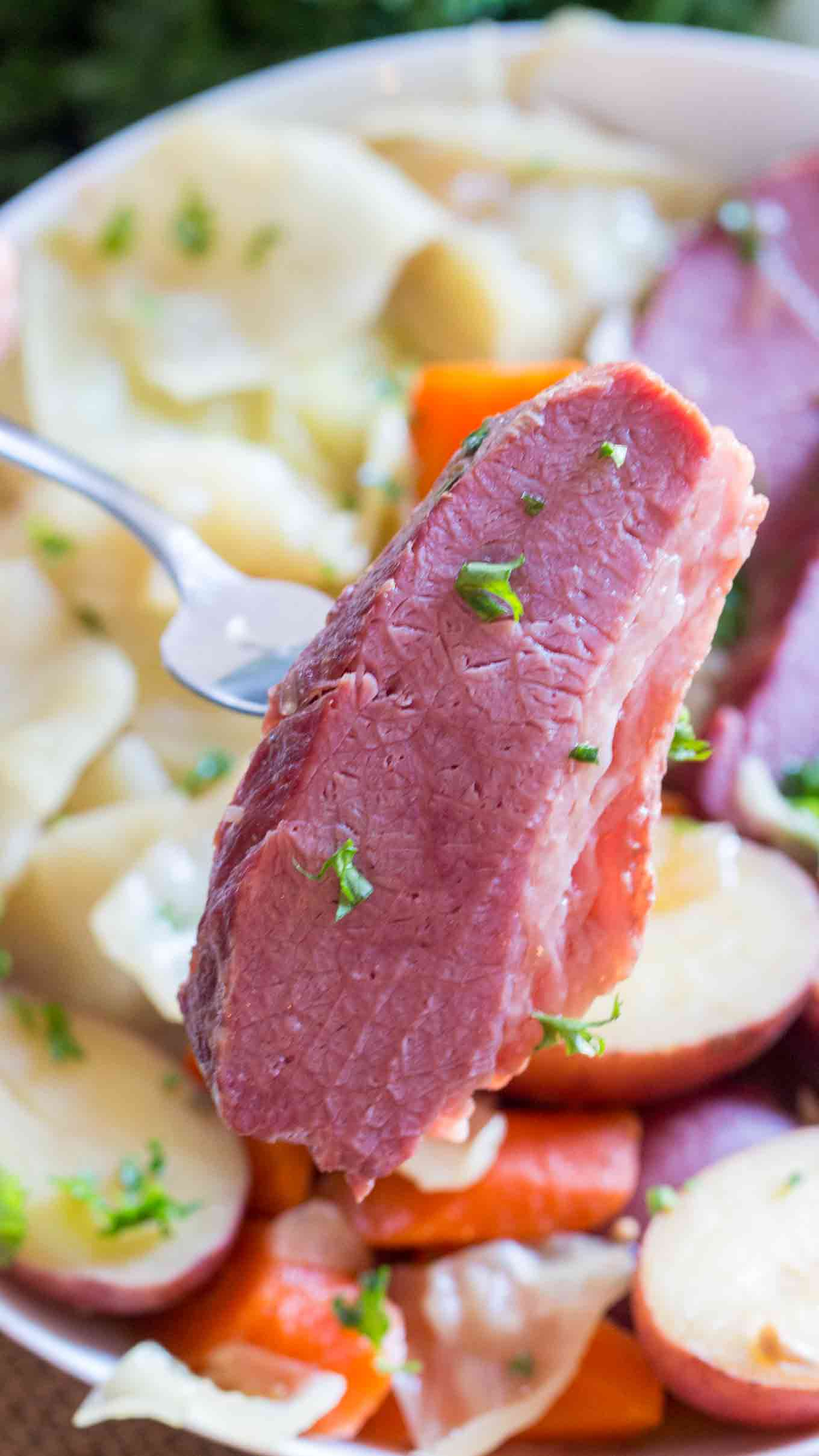 Instant Pot Corned Beef or Pressure Cooker Corned Beef