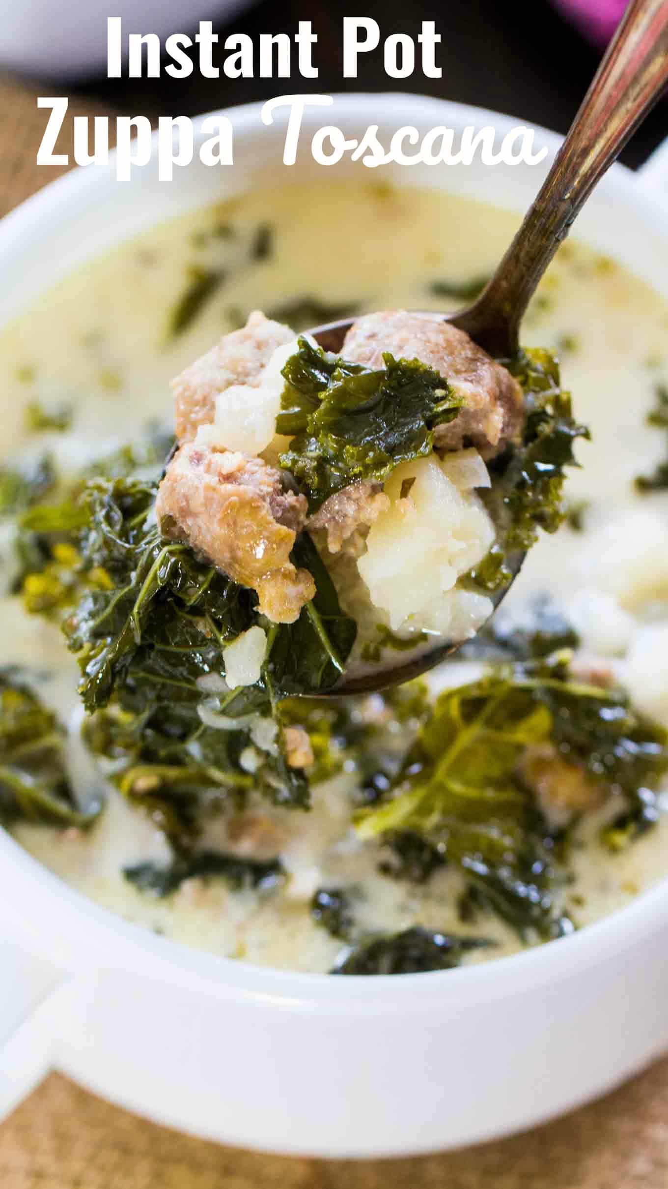 Easy Instant Pot Zuppa Toscana