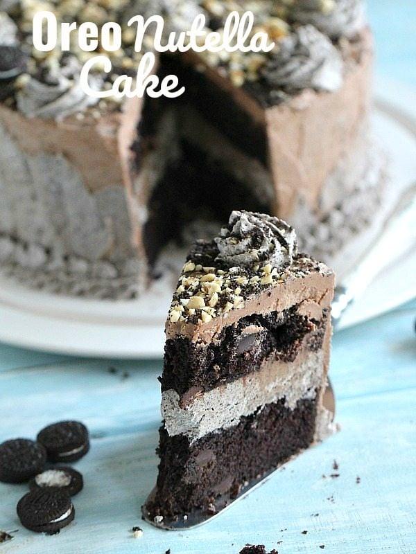 Oreo Nutella Cake Recipe