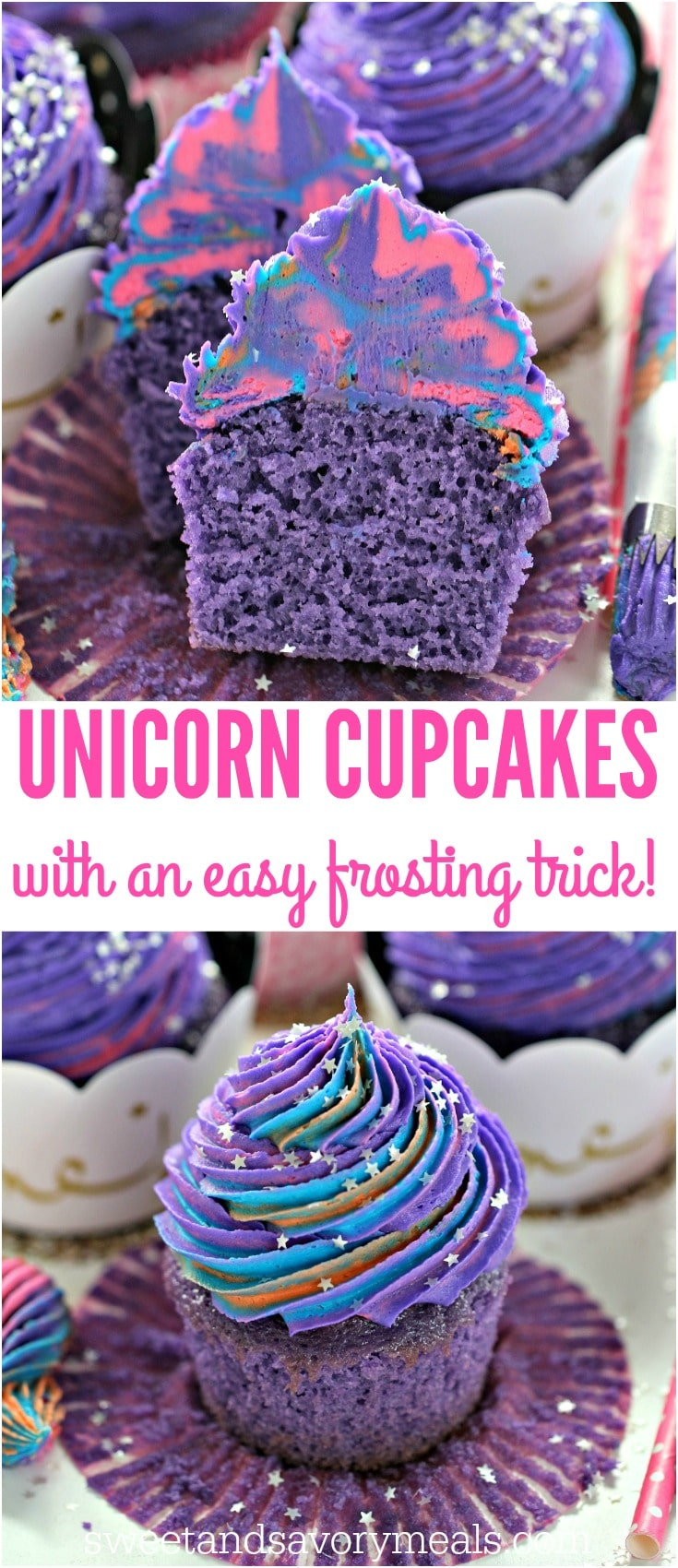 Unicorn Cupcakes are astonishingly pretty, delicious and also easy to make. Perfect for themed parties, these are meant to be a hit with everyone.