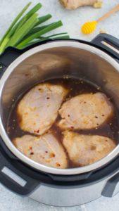 Instant Pot Honey Garlic Chicken Thighs Recipe