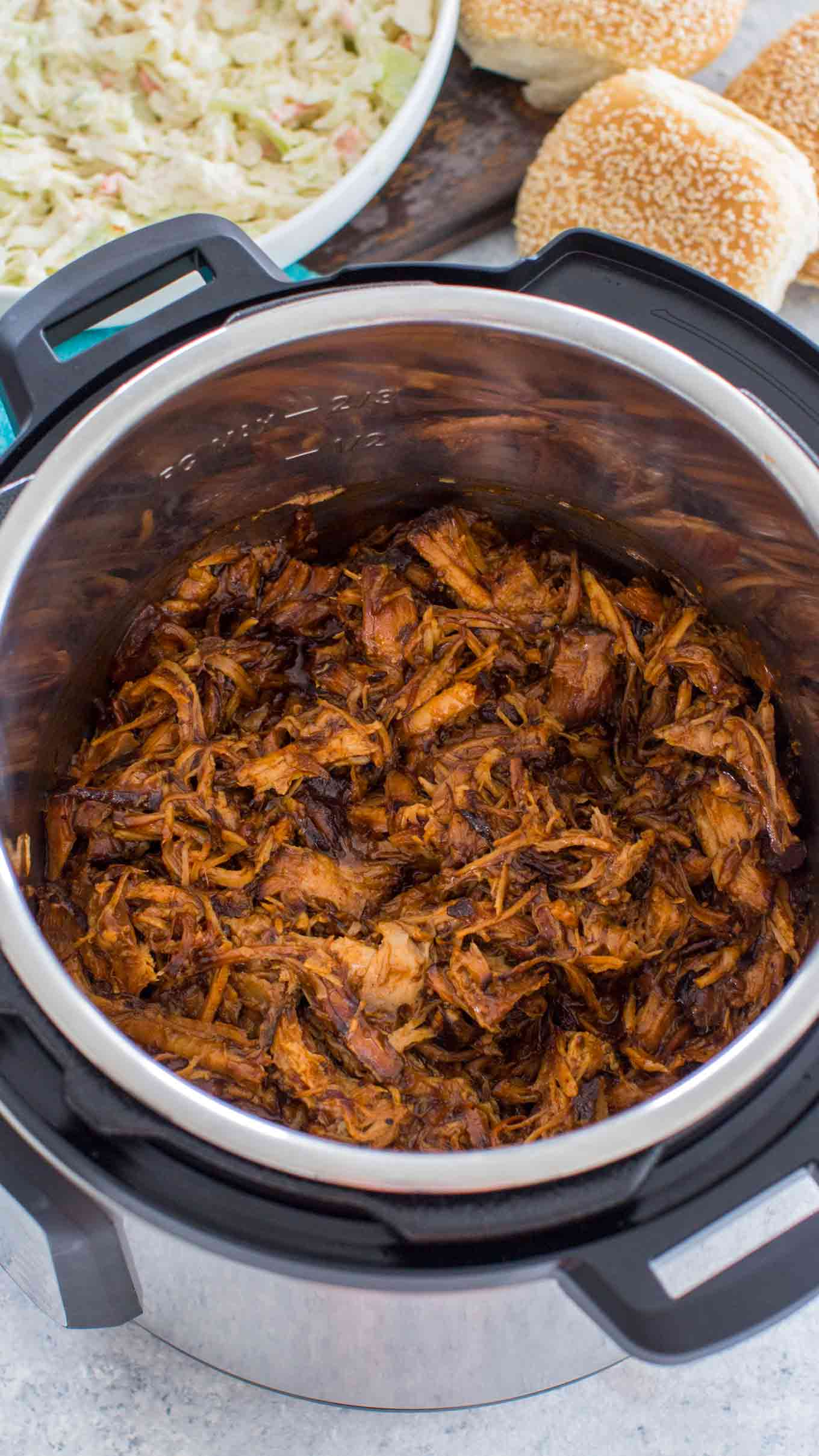 Pressure Cooker Instant Pot Pulled Pork