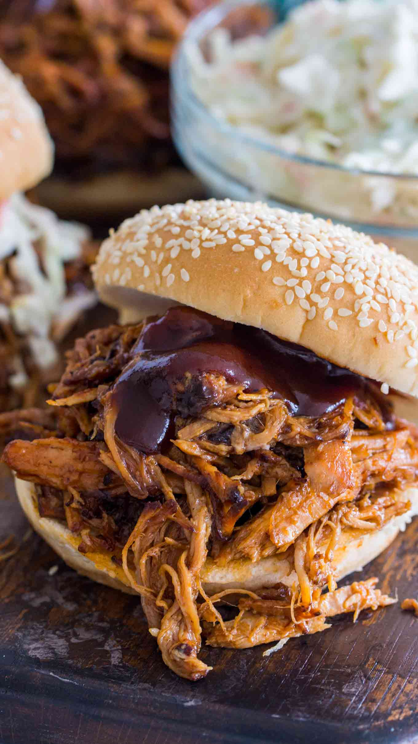 Pressure Cooker Instant Pot Pulled Pork Recipe