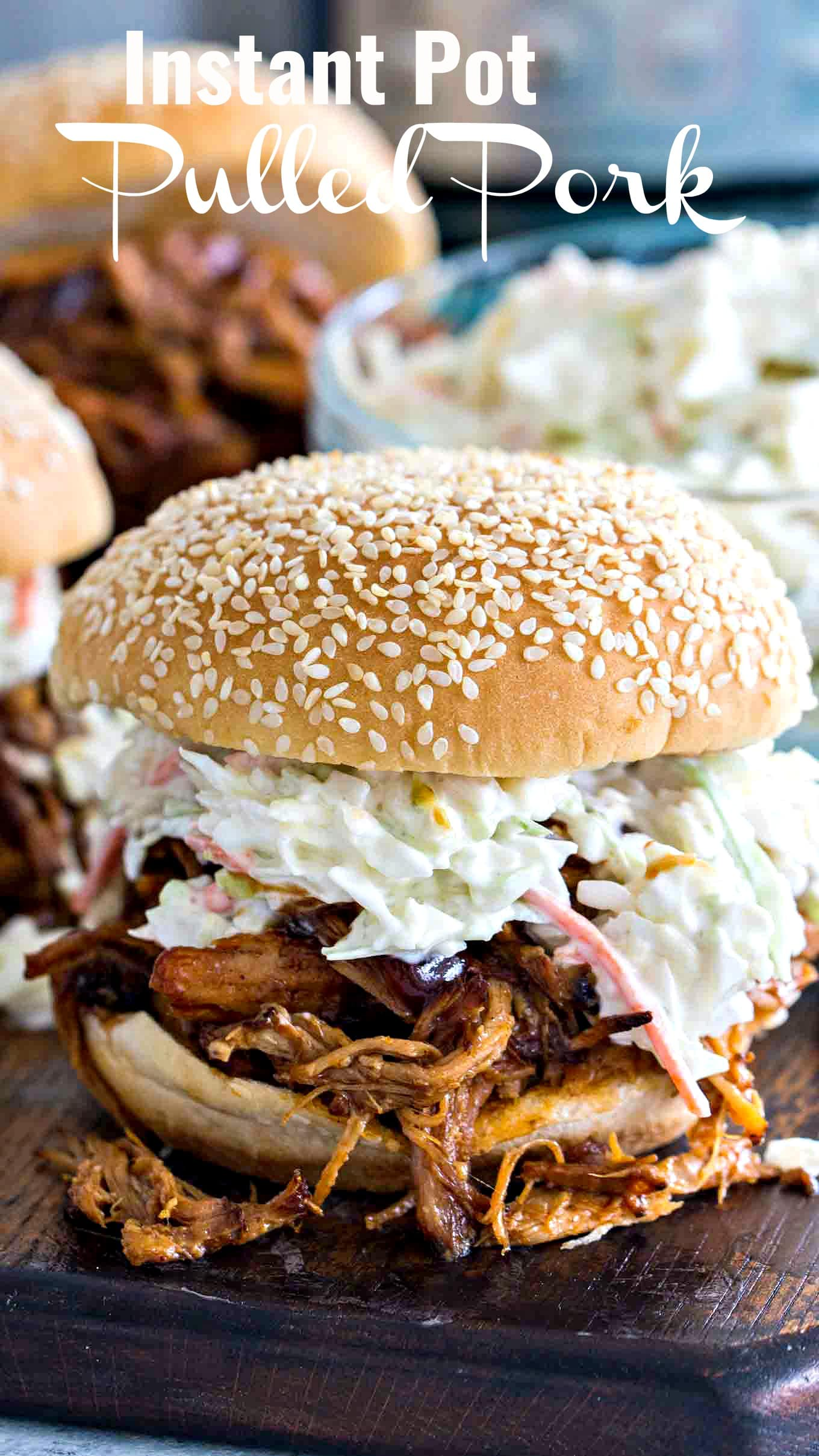 Instant Pot Pressure Cooker Pulled Pork
