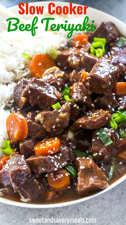 Slow Cooker Beef Teriyaki Recipe