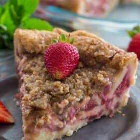 Creamy Strawberry Pie Recipe