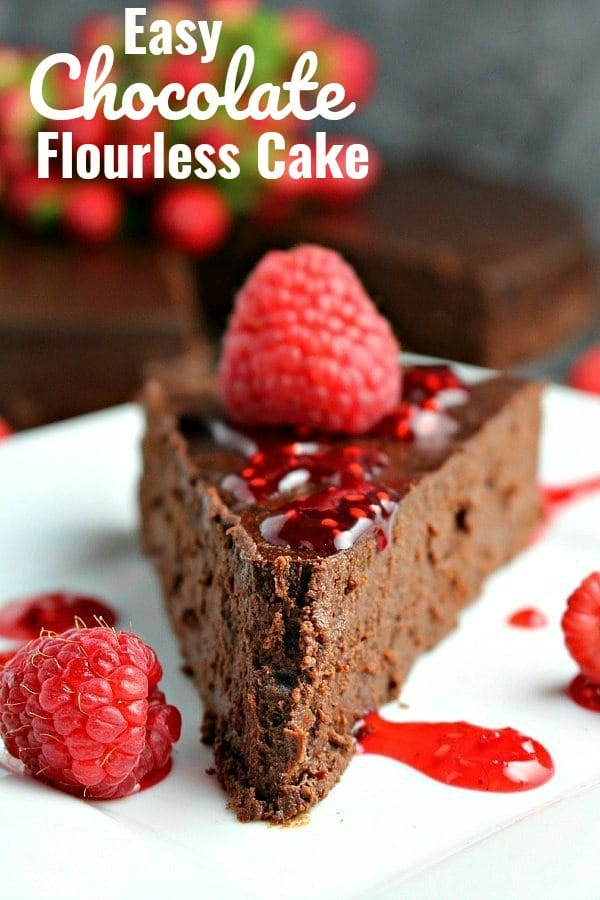 Chocolate Flourless Cake Recipe