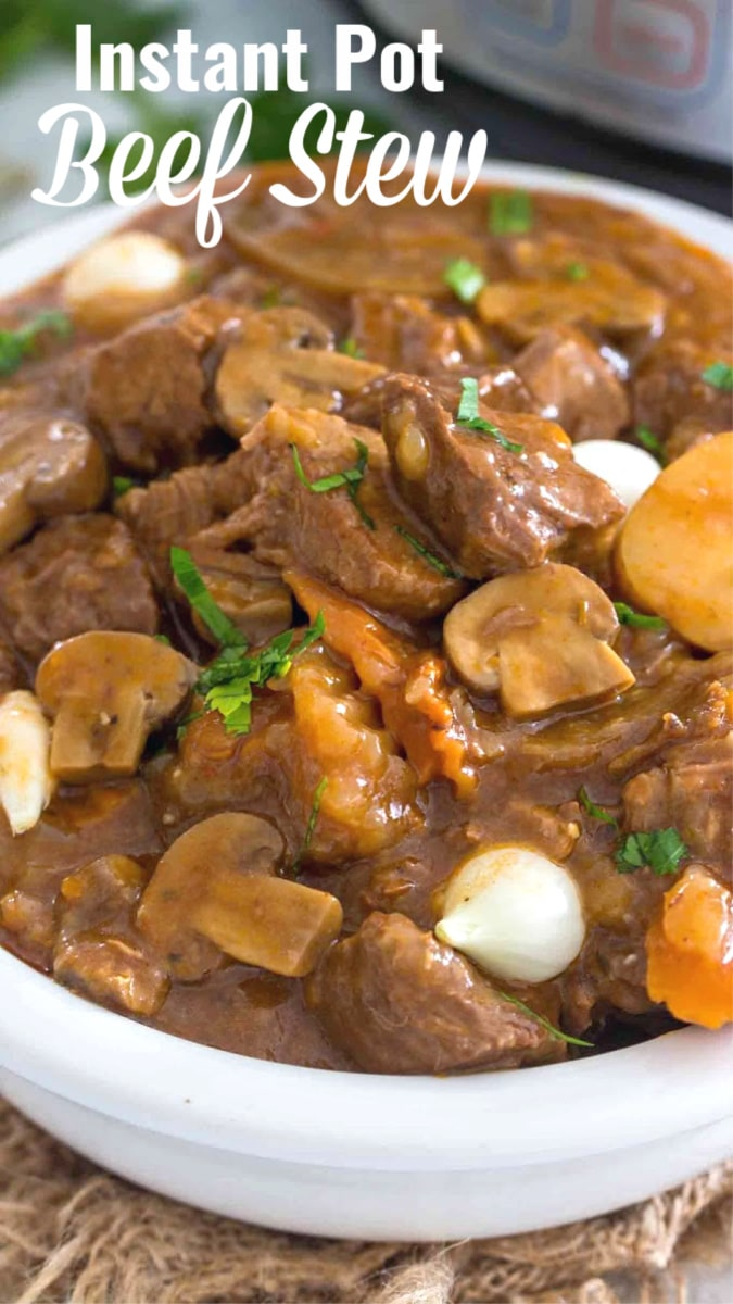 Best Instant Pot Beef Stew