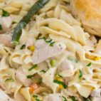 Instant Pot Chicken Pot Pie Pasta
