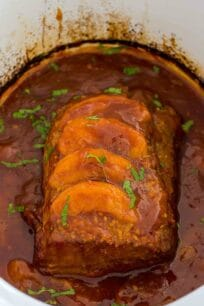 Slow Cooker Peach Pork Recipe