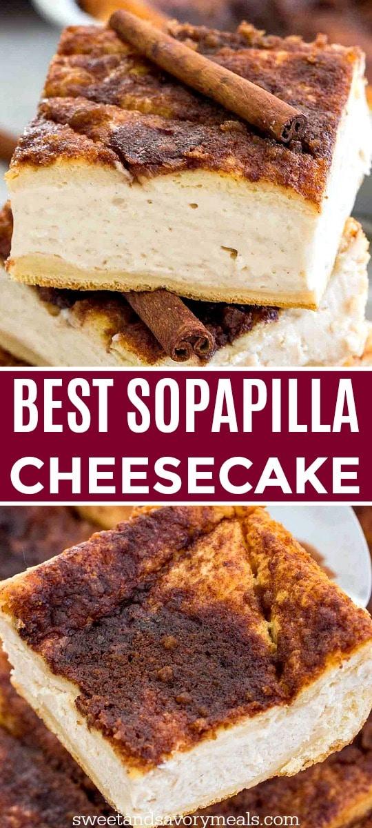 Sopapilla cheesecake image.