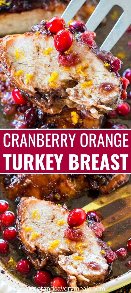 Cranberry Orange Turkey Breast